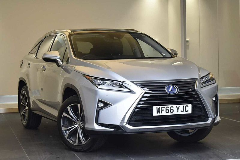 pre owned lexus rx 450h luxury with panoramic roof amp protection pack by lexus exeter. Black Bedroom Furniture Sets. Home Design Ideas